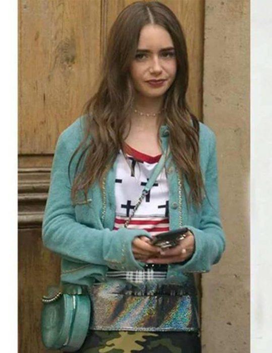 Emily-In-Paris-Emily-Copper-Cardigan