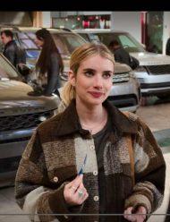 Emma-Roberts-HolidatePlaid-Jacket
