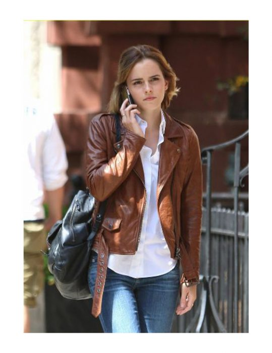 Emma-Watson-Genuine-Leather-Jacket