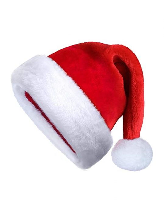 Kurt Russell The Christmas Chronicles Santa Hat With Fur