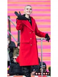 Meg-Donnelly-100th-Thanksgiving-Day-Coat