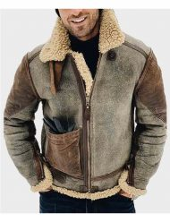Mens-Shearling-Genuine-Leather-Jacket