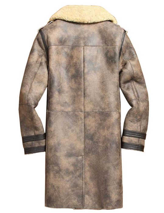 Mens-Sheepskin-Shearling-Leather-trench-Jacket