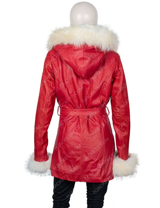 Mrs. Claus The Christmas Chronicles Goldie Hawn Hooded Jacket