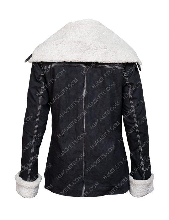 Sloane Holidate 2020 Emma Roberts Jacket With Shearling