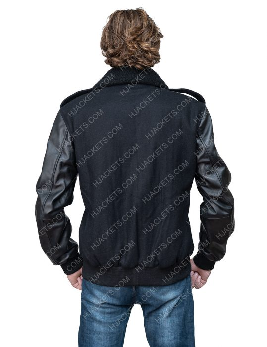 Tariq St. Patrick Power Book II Ghost black leather Jacket