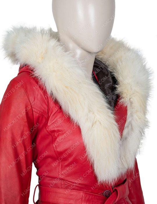 The Christmas Chronicles Goldie Hawn Fur Hooded Jacket