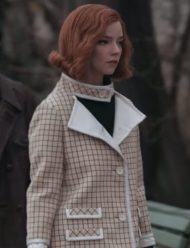 The Queen's Gambit Anya Taylor-Joy Coat