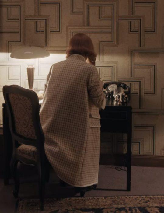 The Queen's Gambit Beth Harmon Coat