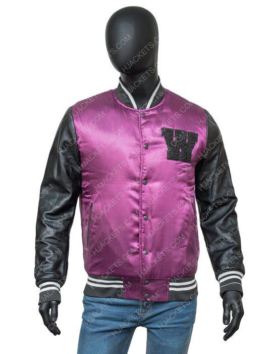 The Weeknd H&M Purple Stylish Jacket