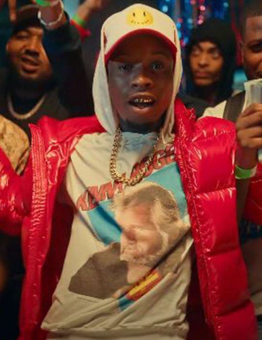 Tory-Lanez---Most-High-Red-Hooded-Jacket