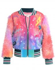 Women-Rainbow-Printed-Cosmic-Bomber-Jack