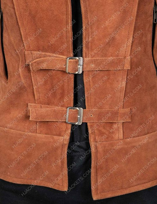 Zombies 2 Brown Leather Wynter Vest