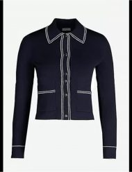 emily-In-Paris-Lily-Collins-NAVY-PIPED-Jacket