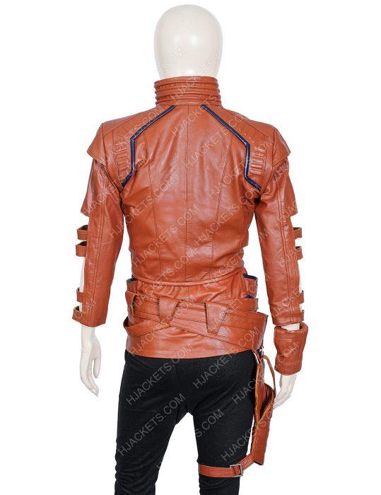 karen gillan avengers endgame leather jacket