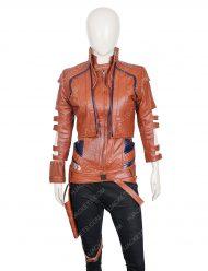 karen gillan avengers endgame nebula leather jacket