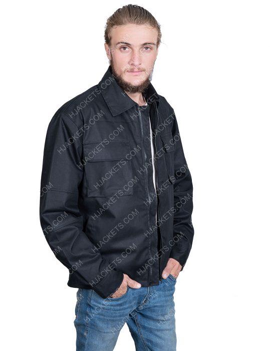 ryan reynolds black cotton 6 underground jacket