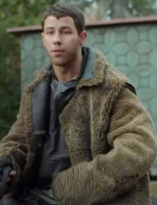 Chaos-Walking-Nick-Jonas-Sherpa-Coat
