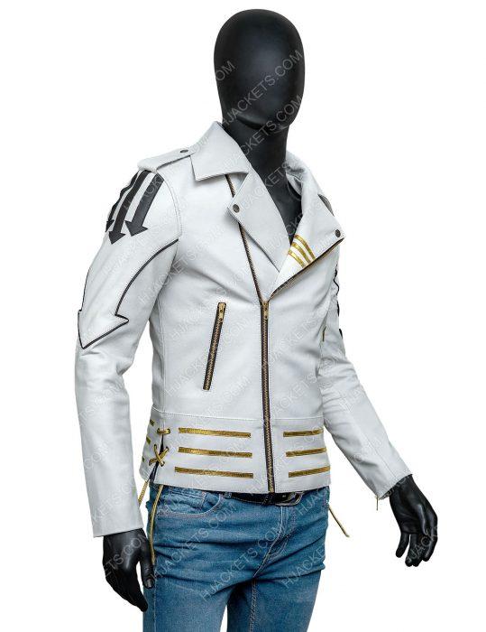 Freddie Mercury Queen Motorcycle Hot Space Jacket