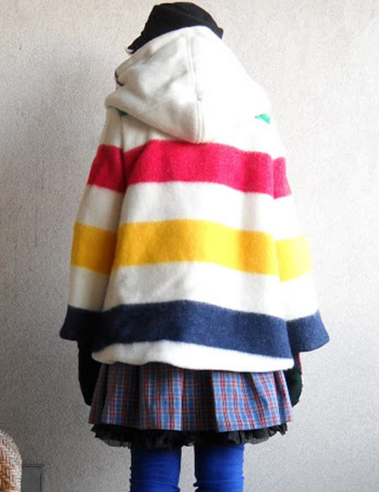 Hudson Bay Blanket hooded Coats