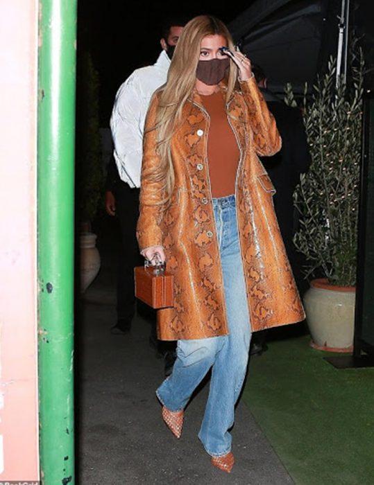 Kylie-Jenner-Python-Coat