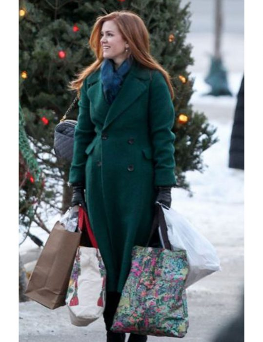 Mackenzie-Godmothered-Isla-Fisher-Green-Trench-Coat
