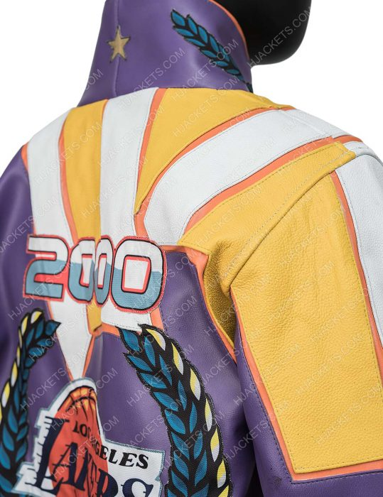 NBA Championship Leather Jacket