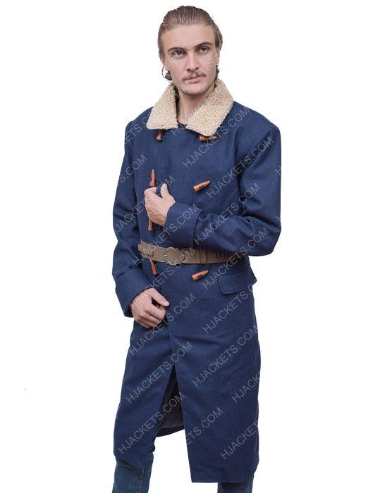 Red Dead Redemption 2 Arthur Morgan Blue Trench Coat