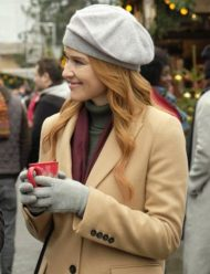 Sarah-Drew-Christmas-in-Vienna-Trench-Coat