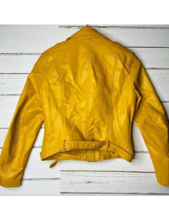 Shanola-Hampton-Shameless-Yellow-Leather-Jacket