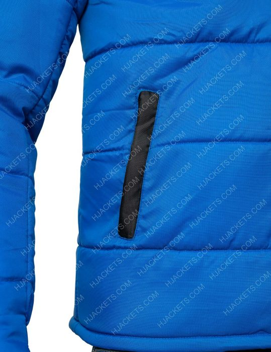 Top Boy Season 03 Jamie Blue Puffer Jacket
