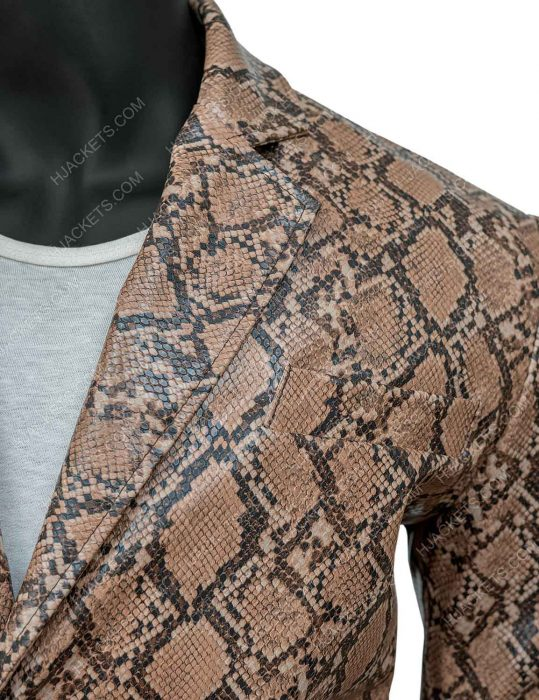 Wild at Heart Nicolas Cage Snake skin Jacket