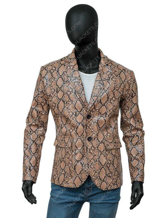 Wild at Heart Sailor Ripley Nicolas Cage Snakeskin Jacket