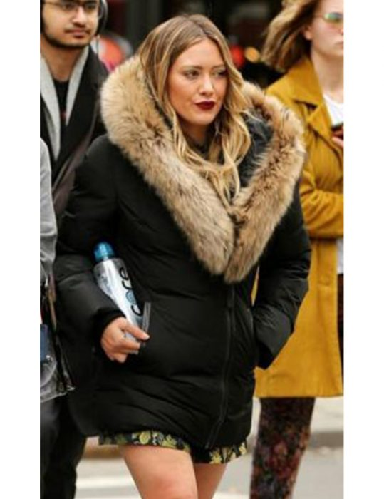 Younger-Hilary-Duff-Kelsey-Peters-Season-7-Fur-Jacket