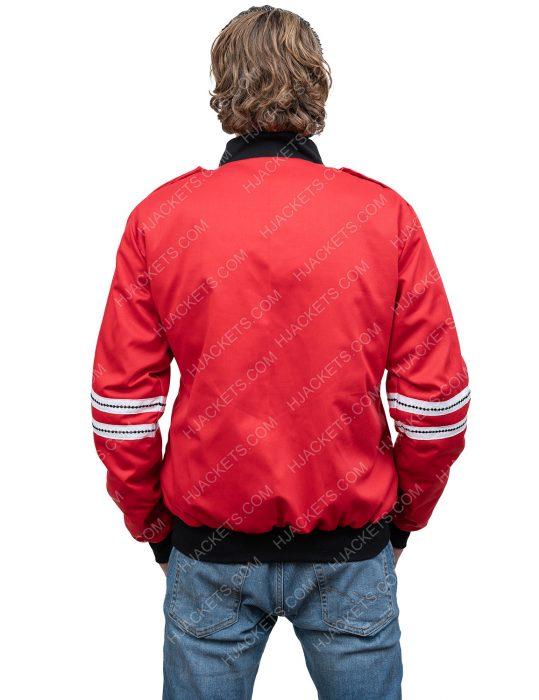 bts j.hope red satin jacket