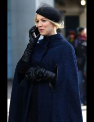 cassie bowden the flight attendant kaley cuoco cape coat