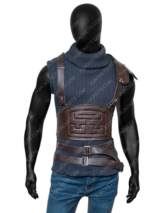cloud strife final fantasy vii remake leather vest