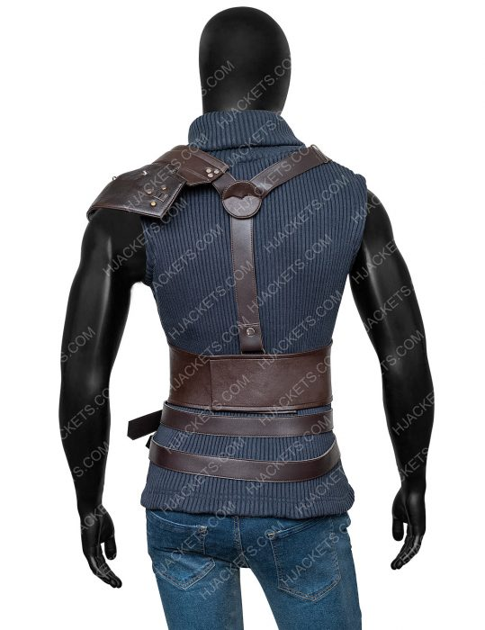 cloud strife final fantasy vii remake vest