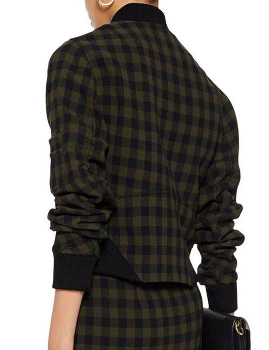 de-la-Cruz-Checked-Jacket