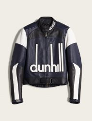 dunhill biker leather jacket