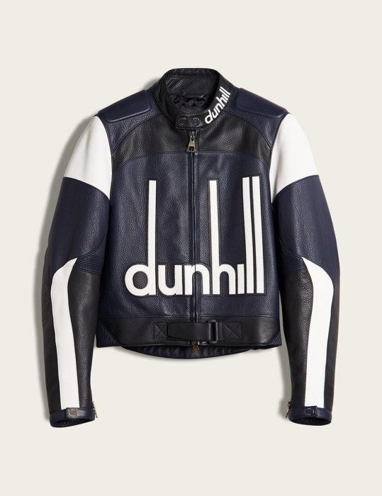 dunhill biker leather jacket
