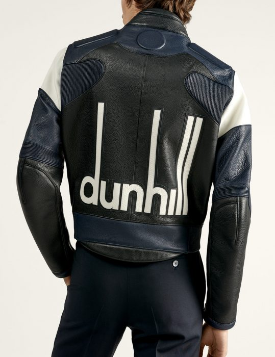 dunhill motorcycle leather jacket