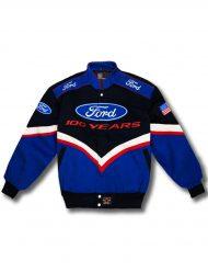 ford racing motorcycle jacket