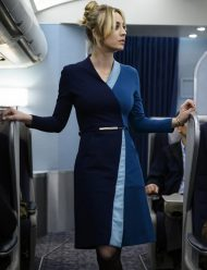 kaley cuoco the flight attendant cassie bowden dress