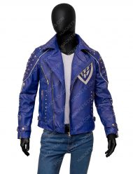 king ben disney descendants 2 mitchell hope blue studded jacket