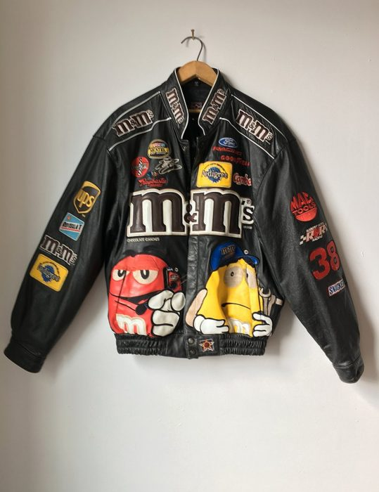 m&ms leather jacket