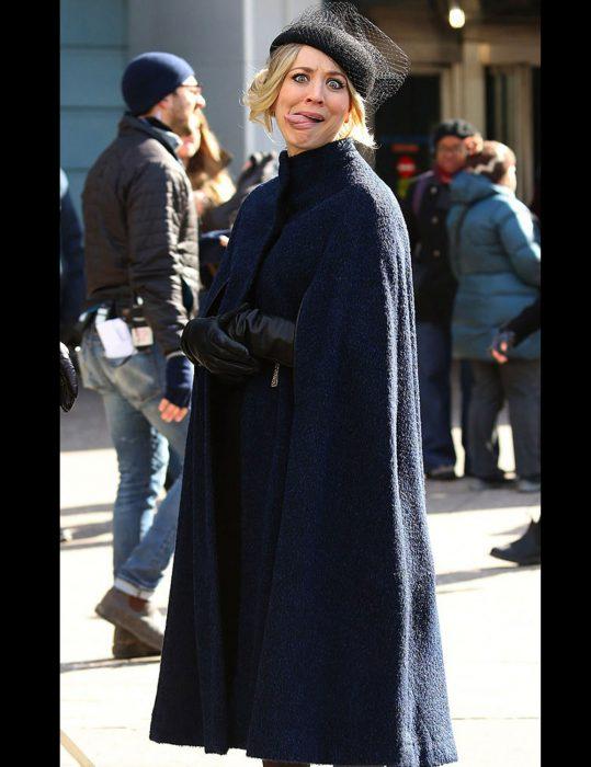 the flight attendant cassie bowden cape coat
