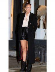 Kate-Valdez-Marry-Me-2021-Jennifer-Lopez-Black-Coat