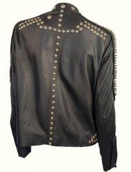 Kendall-Jenner-Studded-Biker-black-Jacket