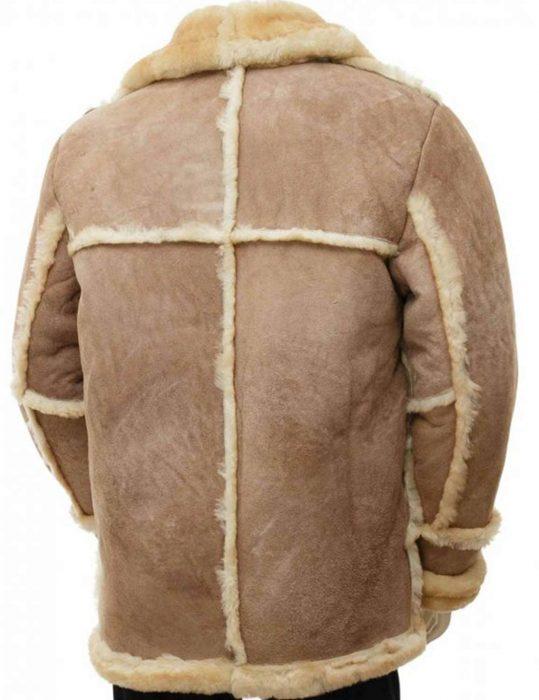 Sand-Sheepskin-Mens-Brown-Leather-Coat-for-Sale
